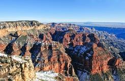 Grand Canyon im Winter Lizenzfreies Stockbild