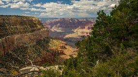 Grand Canyon inspirador dos EUA Fotos de Stock Royalty Free