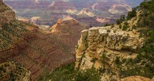 Grand Canyon inspirador dos EUA Imagem de Stock