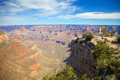 Grand Canyon irregolare Fotografie Stock
