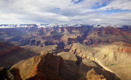 Grand Canyon, jante du sud, Arizona Photographie stock libre de droits