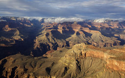 Grand Canyon, jante du sud, Arizona Photo stock