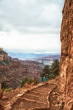 Grand Canyon Kaibab-Spur Stockfotos