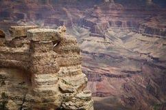 Grand Canyon -Kante Lizenzfreie Stockbilder
