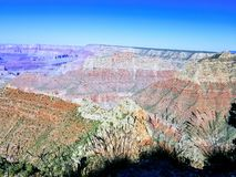 Grand Canyon l'explorant Arizona Etats-Unis image libre de droits