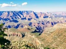 Grand Canyon l'explorant Arizona Etats-Unis photo stock