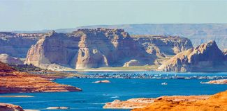 Grand Canyon Lake in Grand Canyon National Park, Arizona, United States of America stock photo