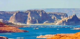 Grand Canyon Lake in Grand Canyon National Park, Arizona, United States of America stock photo
