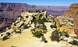 Grand canyon landscape on a sunny day Stock Photography
