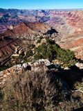 Grand canyon landscape on a sunny day Royalty Free Stock Photography
