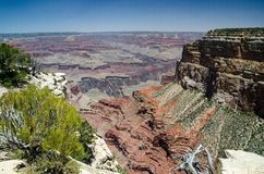 Grand Canyon le Colorado Etats-Unis, Arizona Photo stock