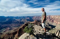Grand Canyon le Colorado Etats-Unis, Arizona, point de Lipan Images libres de droits