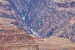Grand Canyon le fleuve Colorado Images stock