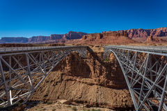 Grand Canyon Lees Ferry. Amazing scenes of the Grand Canyon, in the USA Stock Photography