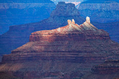 Grand Canyon lights Royalty Free Stock Images