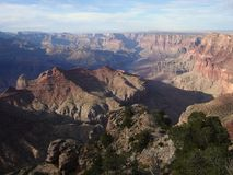 Grand Canyon - Lipan Point Royalty Free Stock Photo