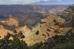 Grand Canyon From Lipan Point Stock Photos