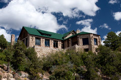 Grand Canyon Lodge On The North Rim Royalty Free Stock Photos