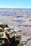 Grand Canyon Look Out Stock Image