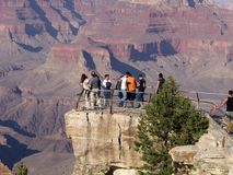 Grand Canyon Lookout. Look out over Grand Canyon Royalty Free Stock Photography