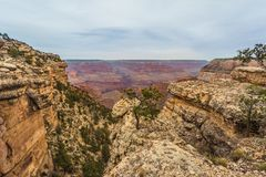 Grand Canyon majestueux, Arizona, Etats-Unis Photo libre de droits