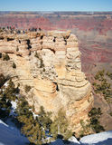 The Grand Canyon from Mather Point Stock Image