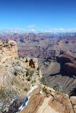 Grand Canyon Mather Point Foto de archivo libre de regalías