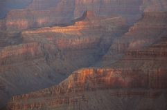 Grand Canyon From Mather Point Stock Photography