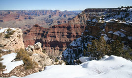 The Grand Canyon from Mather Point in Arizona Royalty Free Stock Image