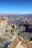 Grand Canyon Mather Point Royalty Free Stock Photo