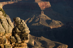 Grand Canyon Mather Point Sunrise Stock Foto