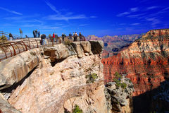 Grand Canyon Mather Point Tourism Stock Image