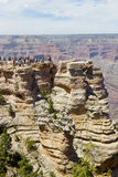Grand Canyon -Mening stock afbeelding