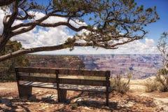 Grand Canyon -Mening, Arizona Stock Foto's