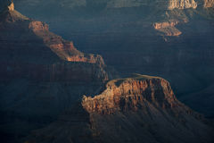 Grand Canyon mesa Stock Photography