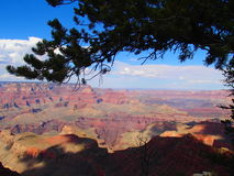 Grand Canyon min sikt Arkivfoton