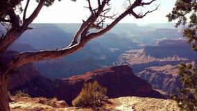 Grand Canyon min sikt Arkivbilder