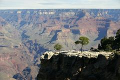 Grand Canyon from Mohave Point. View of the Grand Canyon from Mohave Point Stock Image