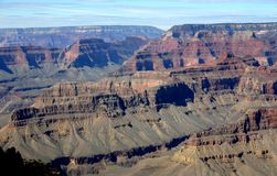 Grand Canyon from Mohave Point Stock Photo