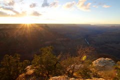 Grand Canyon Mohave Point Stock Image
