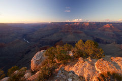 Grand Canyon Mohave Point. Sunset at Grand Canyon Mohave Point, Arizona Royalty Free Stock Photos