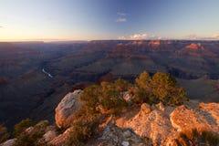 Grand Canyon Mohavepunkt Royaltyfria Foton