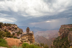 Grand Canyon Monsoon Royalty Free Stock Photo