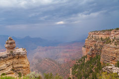 Grand Canyon Monsoon Storm Royalty Free Stock Image