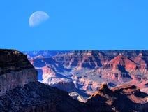 Grand Canyon Moon Stock Photos