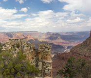 Grand Canyon. From Moran Point Stock Image
