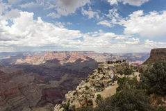 Grand Canyon. From Moran Point Royalty Free Stock Photography