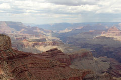 Grand Canyon. From Moran Point Stock Photo