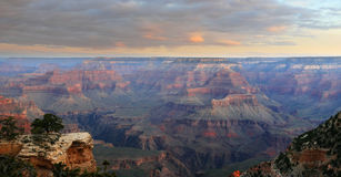 Grand Canyon morning stock photography