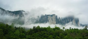 Grand Canyon Mufu in Enshi Hubei China lizenzfreies stockfoto